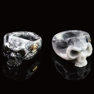 【METALIZE】King Skull Poly Ring 國王骷髏Poly戒指