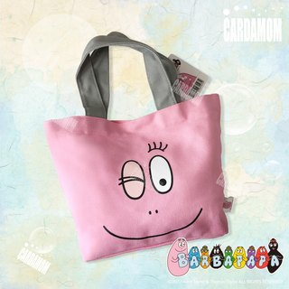 [BARBAPAPA Mr. bubble] classic smile canvas bag genuine licensed card international