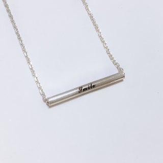 [Christmas (exchange gifts)] [custom] <tube wishes - sterling silver necklace>