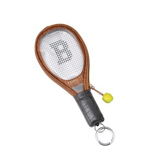 SUSS Japan Magnets tennis racket styling card holder / ID card set / coin purse (coffee) - spot