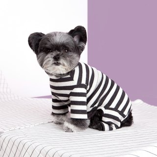 #bff striped jumpsuit _ gray and black stripes