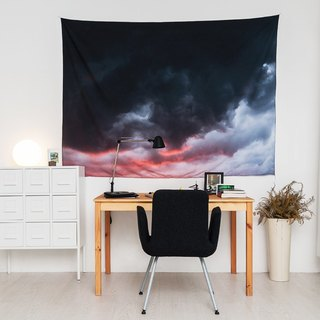Cloudy- Home Decor Home Decor Wall Mural Wall Tapestry Wall Mural Home Decorations Wall Decorations Interior Decorations Setting - Zakii
