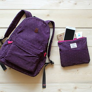 Mildred Backpack- Purple(A4 OK)_100416-40