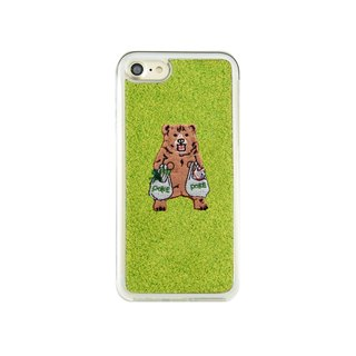 Shibaful -Mill Ends Park Pokefasu Super-Kuma- for iPhone Case