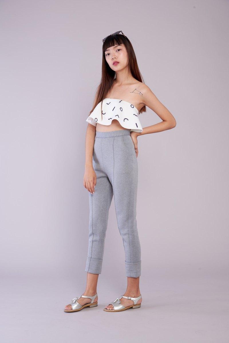 ( SIZE M ) 氯丁橡膠面料長褲