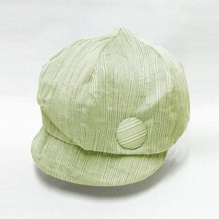 Bird news Boy cape unique personality like design like birds Boy Cap · Green ladies hat size adjustment OK 【PL 1234】