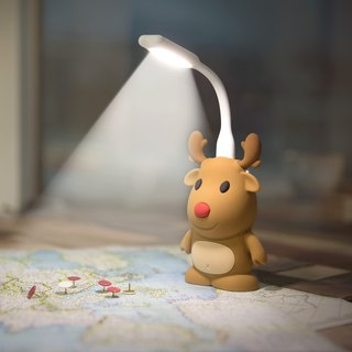 Elk doll mobile power 6700mAh (plus bonus Bone design LED lights)