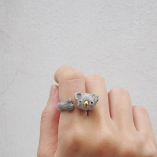 Koala Hugging Ring
