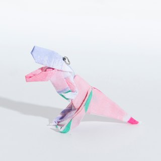 \T-REX PARTY/ origami accessory_Watercolor Pastel