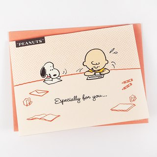 Snoopy I am writing to the most special you [Hallmark-Peanuts Snoopy - Stereo Card Multipurpose]