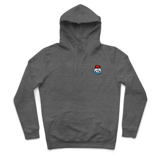 Eye drops - heather gray - Hooded T-shirt