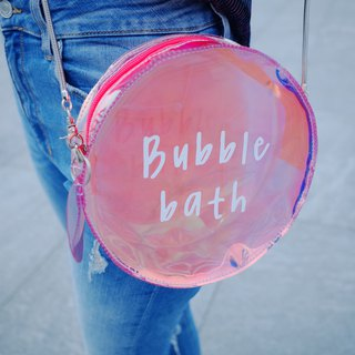 Bubble bath bag