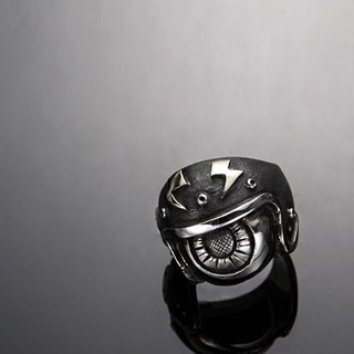 """Mirror of soul"" Eyeball Helmet Ring 