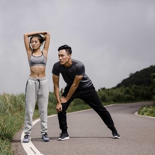 (Zero clear) hao Functional Jogger Pants Shrink trousers