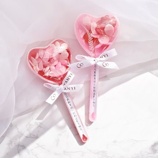 WANYI does not wither the flower ball love stick dry flowers do not wither flowers wedding small things layout wedding gift