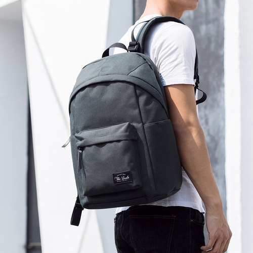 The Dude] Hong Kong brand leisure after the backpack waterproof ...