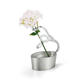 Pure tin flower arrangement (round)