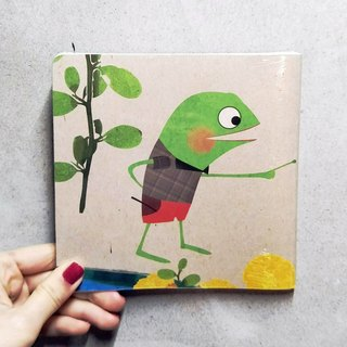 Paperback Notebook - Frogs