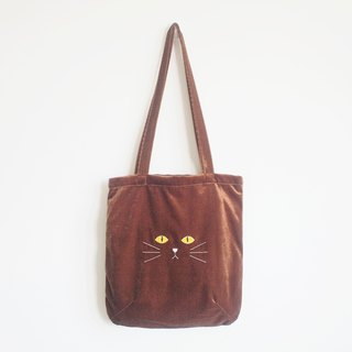 'burmese' cat tote bag