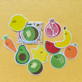 Veggies & Fruities Sticker Pack