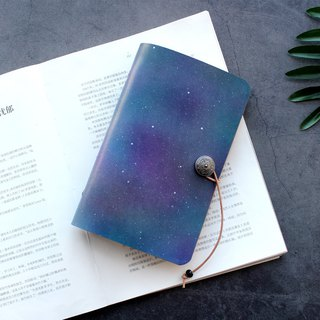 Starry 96 card position vegetable tanned leather card holder / leather business card holder / ticket holder customization