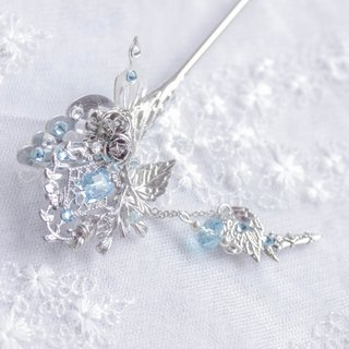 *Lilu Na Story*Snow Rose Hairpin