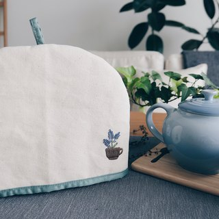 Teapot Cover | Teapot Warmer | Hand-embroidered | Christmas | Home & Living