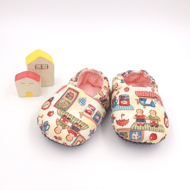 Gingerbread Man - Toddler Shoes / Baby Shoes / Baby Shoes