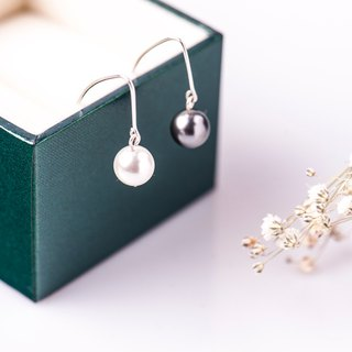 Pearl・Earrings Drape-style 925 sterling silver 【SZE1798】