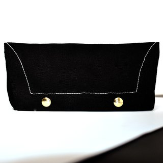 Canvas pencil case_black
