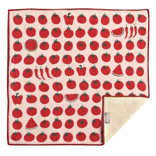 【IMA】WAFUKA Japan made Absorben, Soft, Cute & Unique Handkerchief - Tomatos