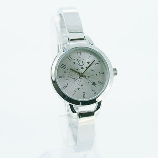 [UNI] with you under the same sky minimalist silver Star bracelet watch (silver surface)