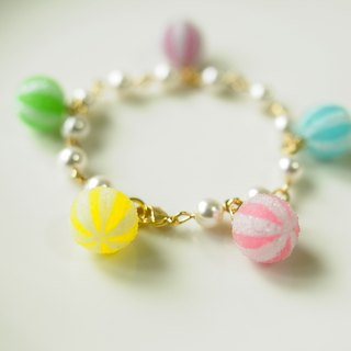 Sweet Dream ☆ kumquat sugar delicious pearl bracelet / color models