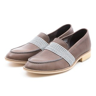 ARGIS Japan Metropolitan Yale Lok Fu Shoes #31111 Iron Ash - Japanese Handmade