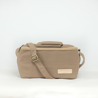 Bento bag - brown [hot/cold bag for lunch box]