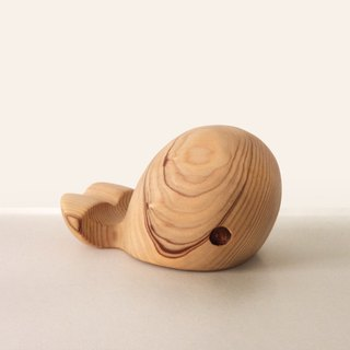 Whale standing full of whale shape mobile phone holder Ipad frame hand made wood can be added to buy Lei carving words