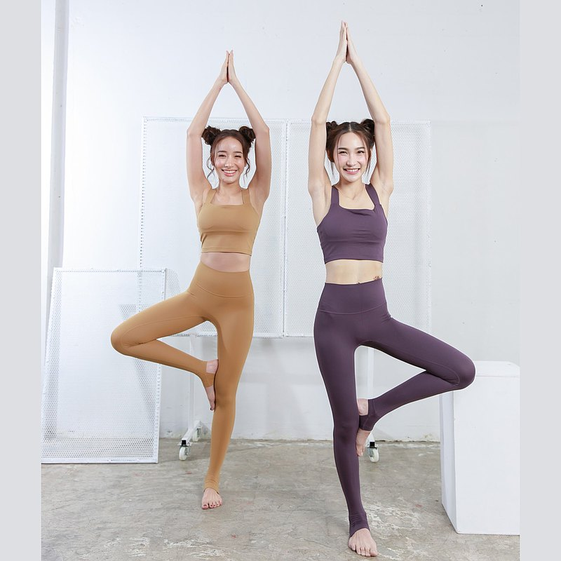 Goldenrod Yoga Set - Sportswear