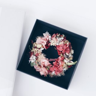 Flower Wreath! [Aphrodite - Aphrodite] Dry Flower Eternal Flower Wreath