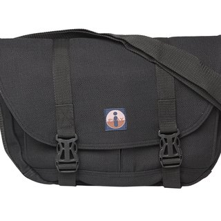Messenger bag (handmade) - black trademark has been registered