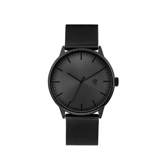 Chpo Brand Sweden Brand - Nando Black Dial - Black Milano with Adjustable Watch