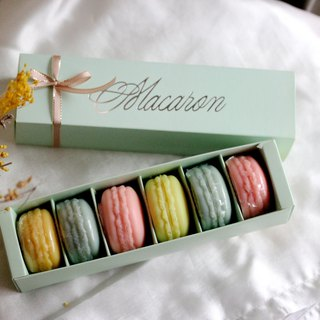 Vera Handmade Macarons Fragrance Soap 6 Packing/Exchanging Gifts/ Corporate Gifts/Wedding Accessories