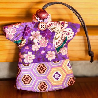 Le Sew than the rabbit LoveRabbit- Japanese Oriental Style Wallets - can house keys, clothes style, Japanese style, cherry, butterfly