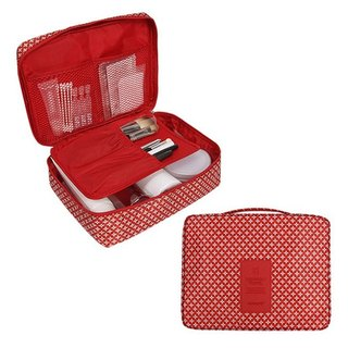 MPL-pattern portable universal bag cosmetic bag - classic red, MPL24666