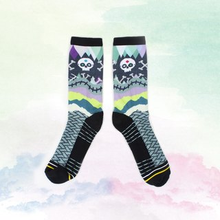 [Small 骷髅] Halloween special section / sports / socks
