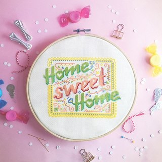 Cross Stitch KIT - Spring Home Sweet Home