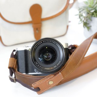 Anothergrains leather camera strap for DSLR