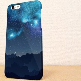 (Free shipping)iPhone case GALAXY case ☆ ギャラクシーな夜 スマホケース