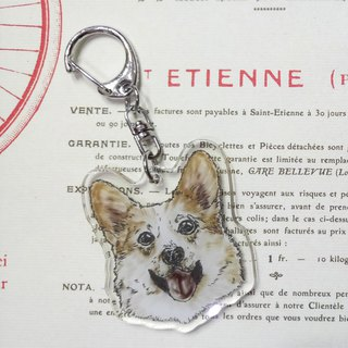 Koki-Acrylic Charm (Key Ring) Double Layer