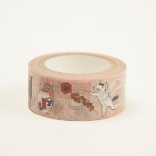 Three cat shop ~ New Year paper tape