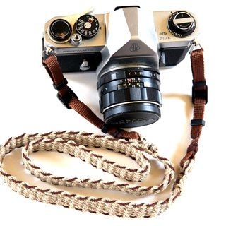 Hemp Hemp Camera Strap BRW / Belt Type